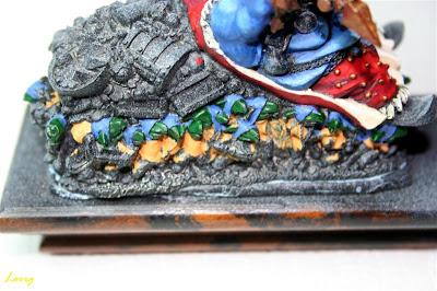 Pintura de la capucha los Gnoblars de la izquierda de Grasientus Dientetoro