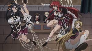 High School DxD New OVA