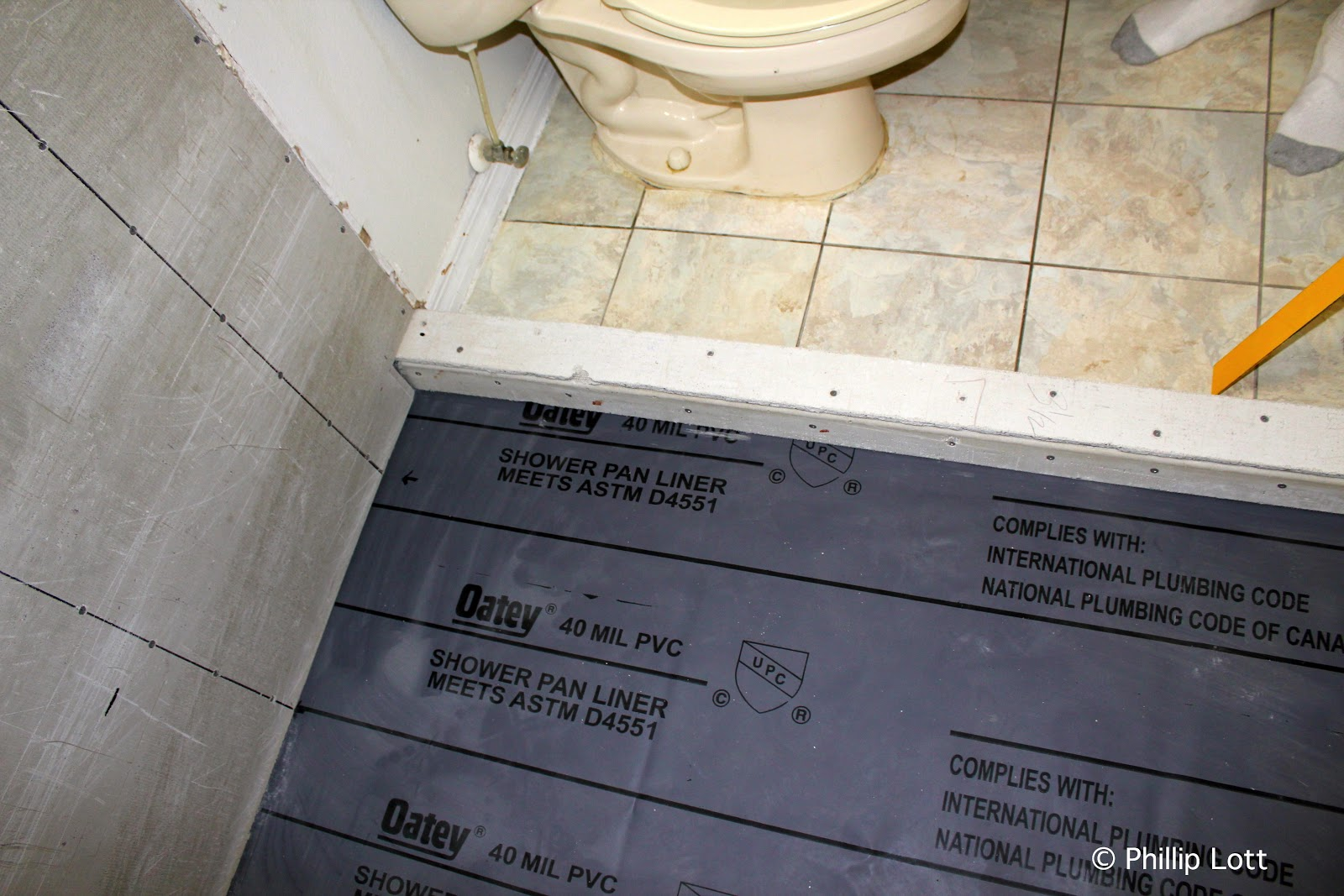 We Debated Whether To Replace The Floor Tiles, Which Are Only A Couple  Years Old. . . And Instead Decided To Choose A Tile For The Shower Walls  That ...