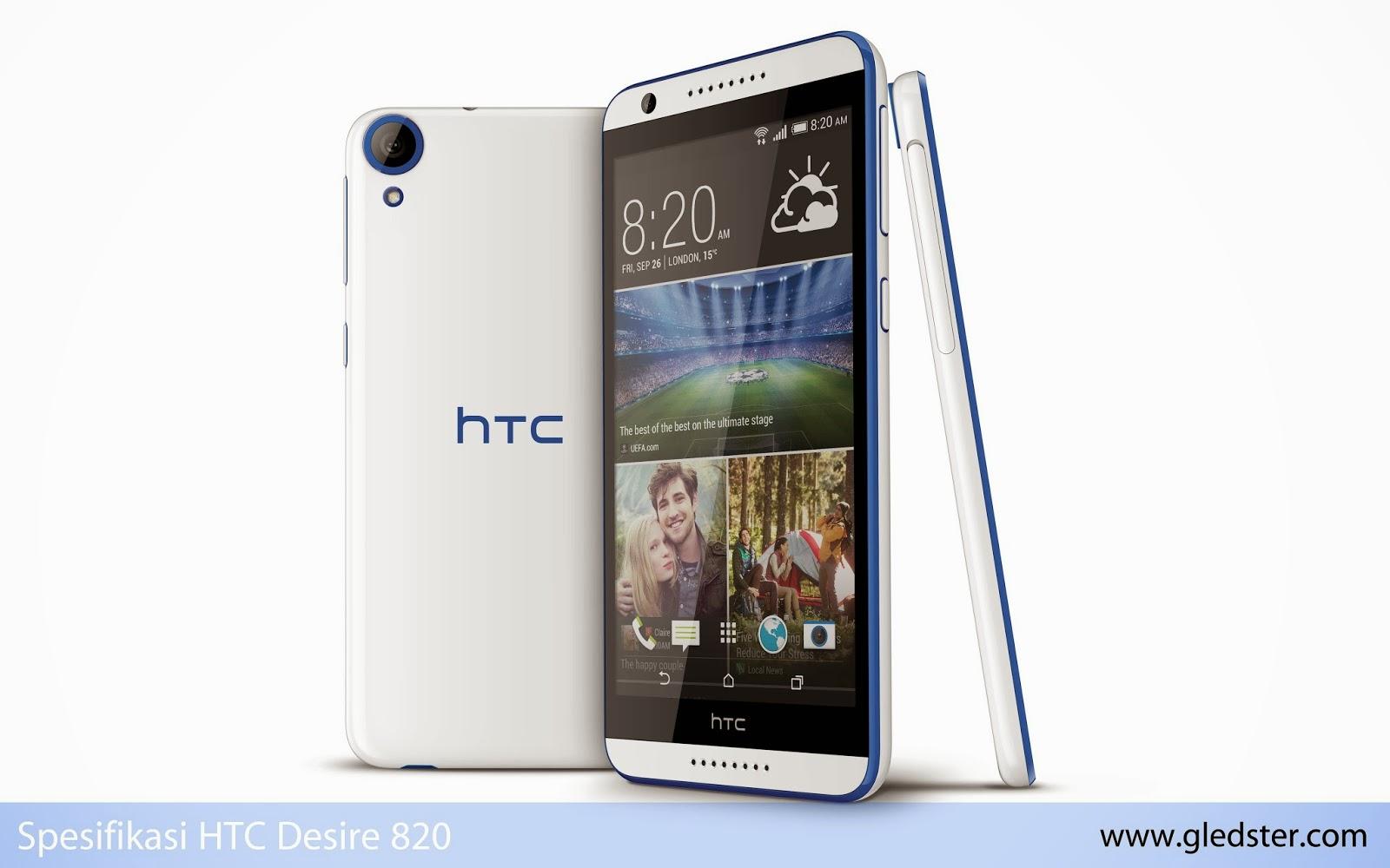 Spesifikasi HTC Desire 820