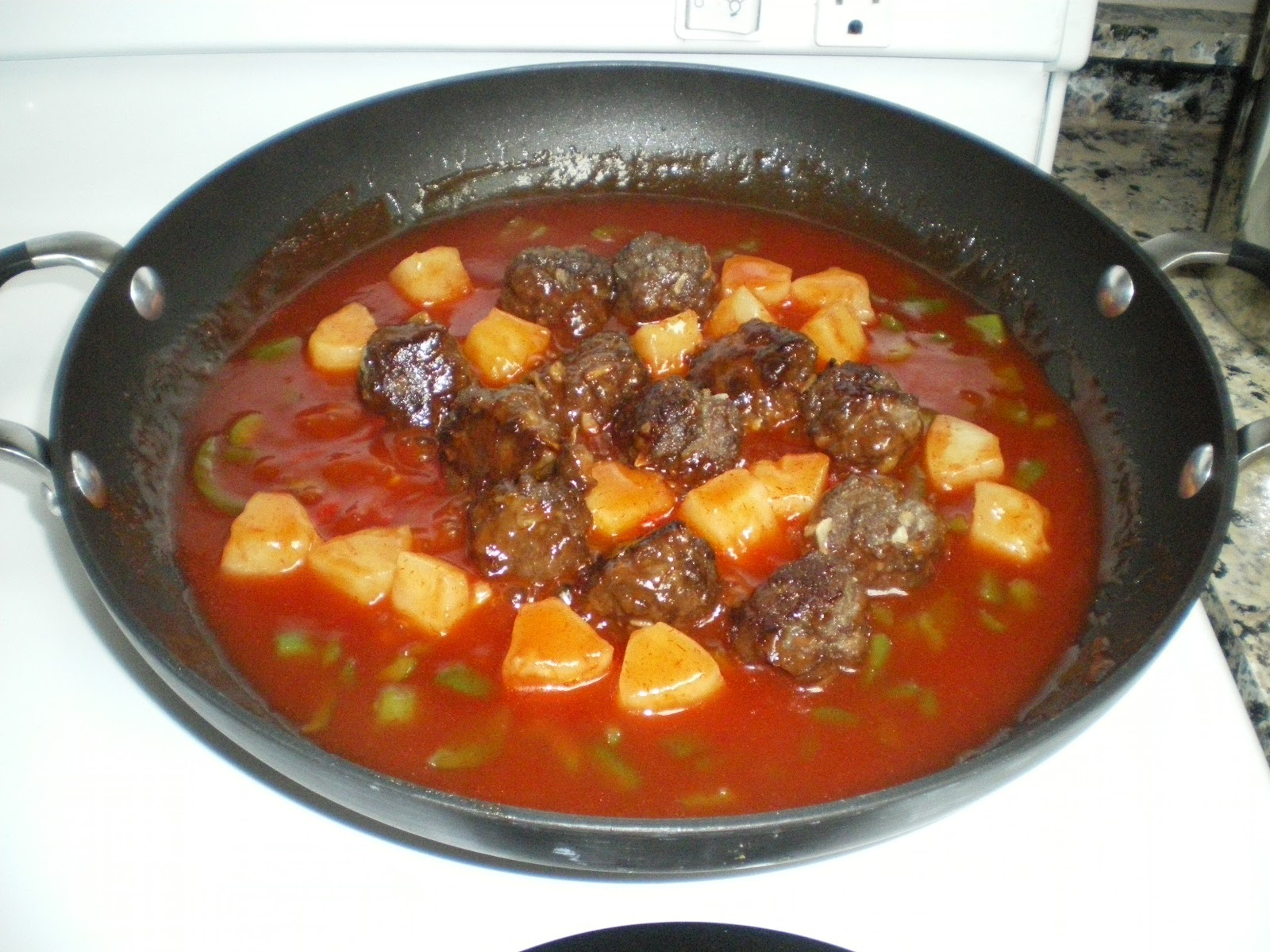 "... the One Income Dollar: Sweet & Sour Meatballs-Hubby Says ""The Best"