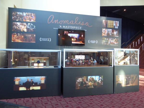 Anomalisa stop-motion animation puppets sets exhibit