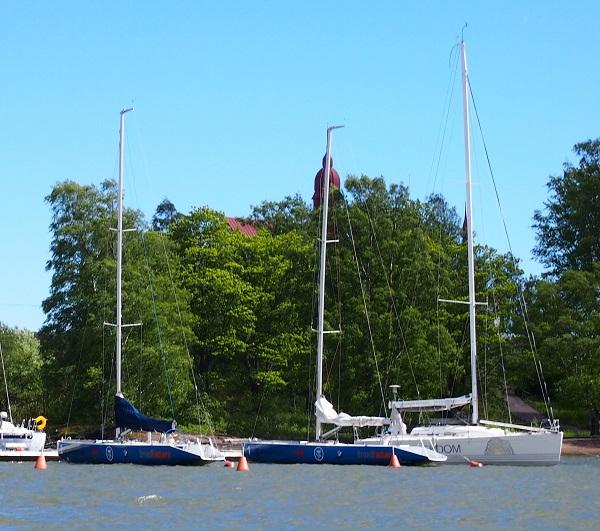 How do you sail?