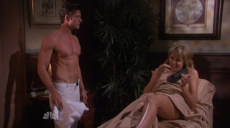 James Scott Shirtless in Days of Our Lives 20111219
