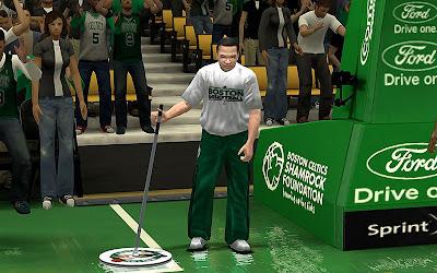 NBA 2K13 Boston Celtics Sideline Characters Mod