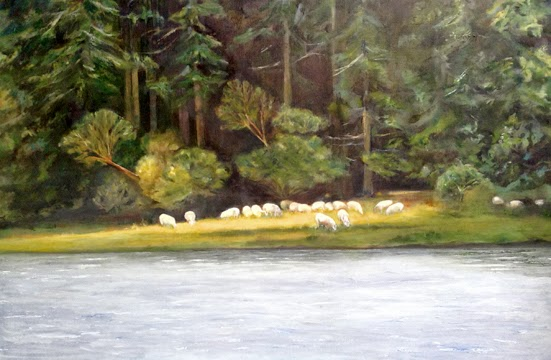Annette Bay Sheep © Nancy Van Blaricom