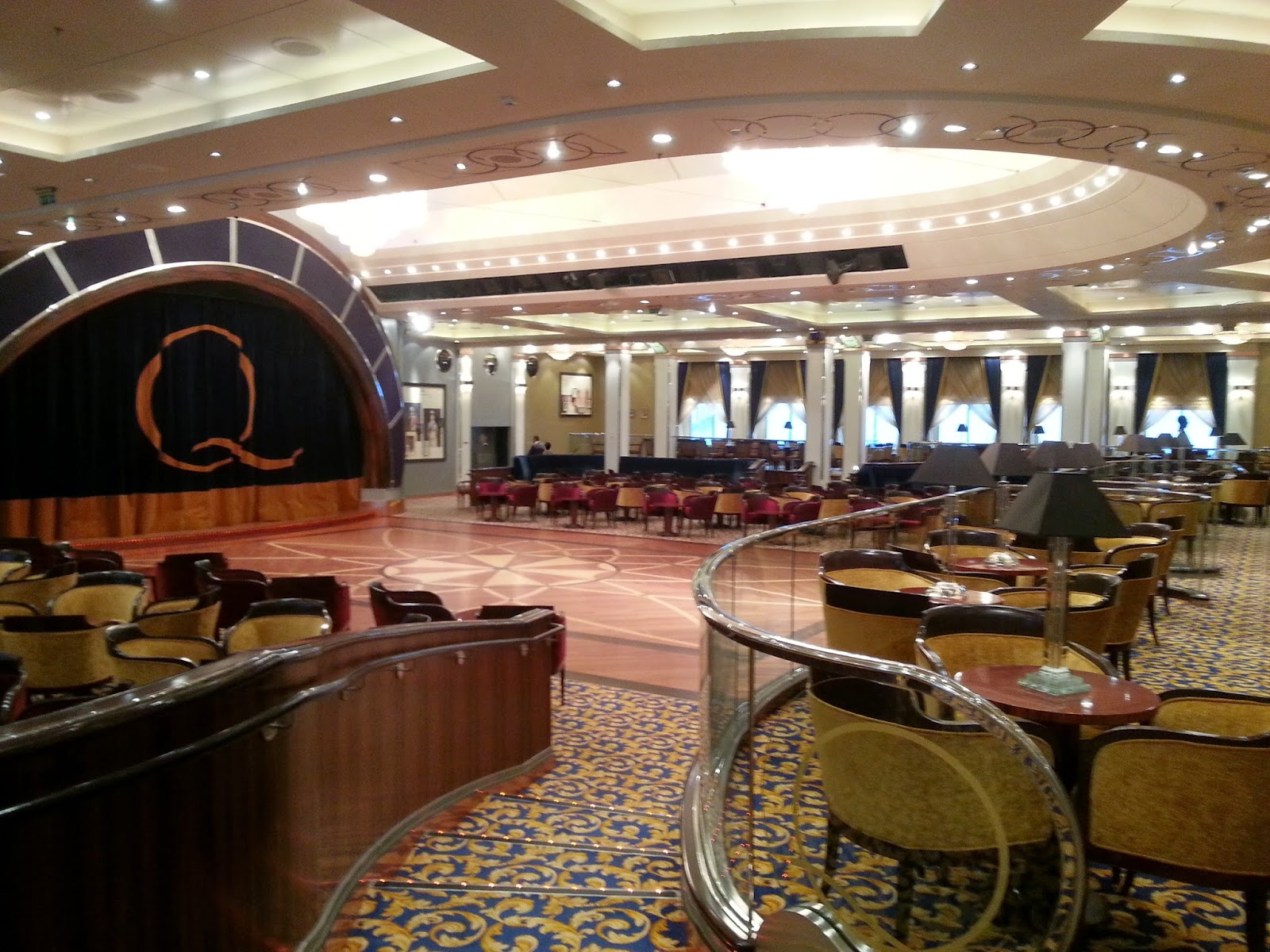 Queen Mary 2 (QM2) - Queens Room