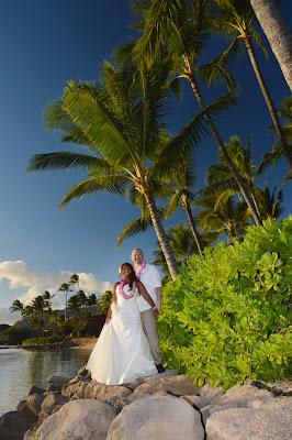 Norwegian Couple Hawaii Honeymoon