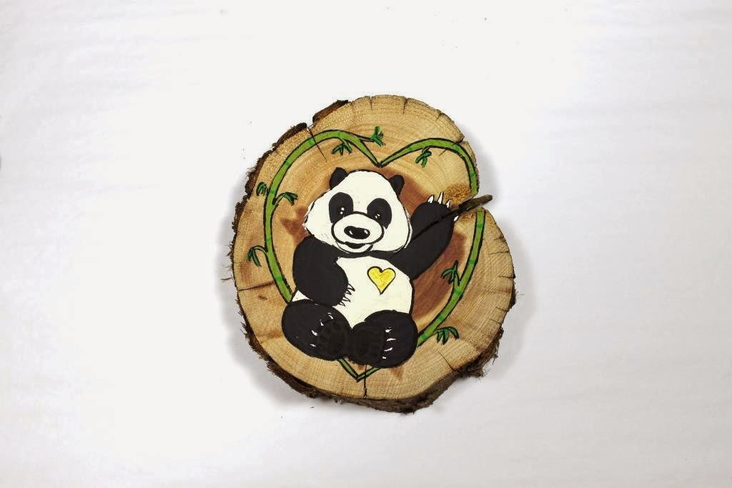 I have a brand new love panda painting available in my shop today. This adorable little bear makes a great Valentine's gift for that special someone!  https://www.etsy.com/listing/218469402/love-panda-wood-slice-painting?ref=shop_home_feat_4