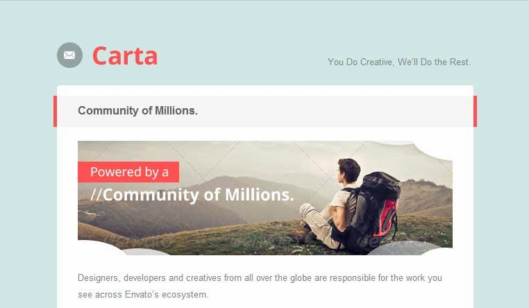 Carta – Responsive Email Template