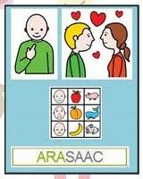 Aquets bloc fa servir pictogrames de ARASAAC