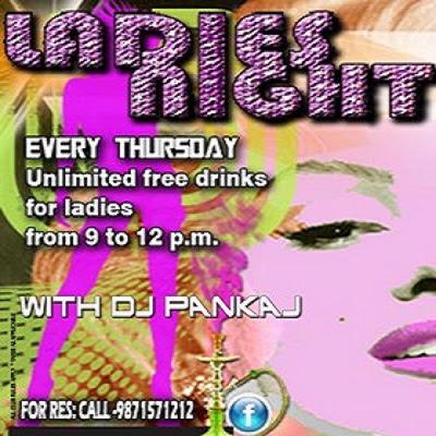ladies night in delhi