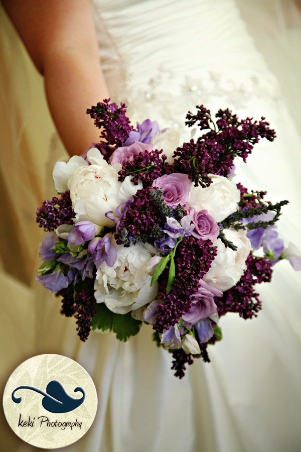 In need of some purple bouquet inspiration!