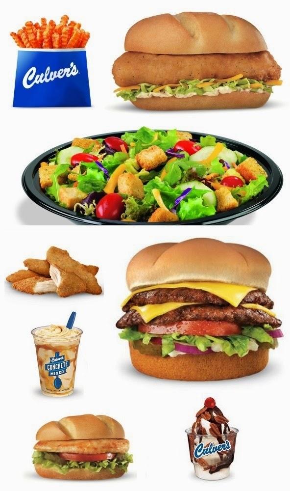 Culver's food