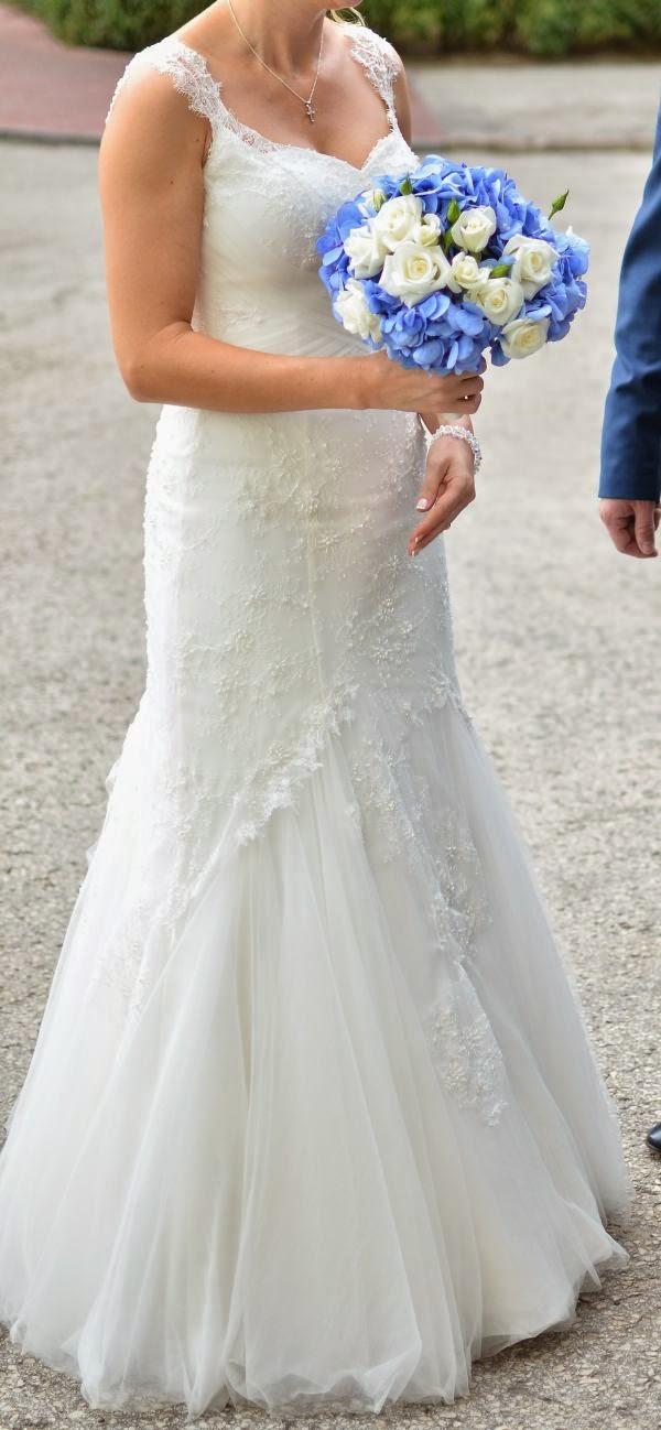 Suknie ślubne Vestido Koronkowa Suknia ślubna Firmy Nabla O Kroju