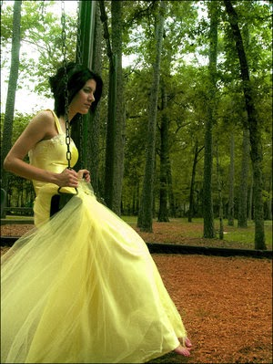 Various kinds of wedding dresses with new models yellow for How to become a wedding dress model