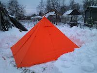 палатка пирамида для легкоходов