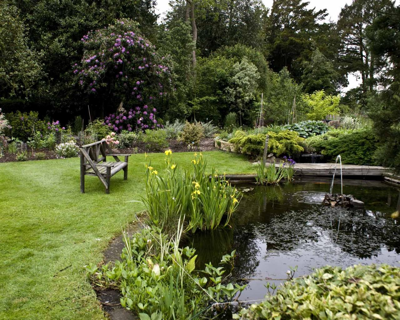 Adrienne 39 s what is an english garden for The water garden