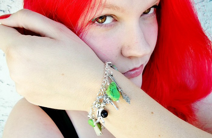 Zombie Bracelet from Laughing Vixen Lounge