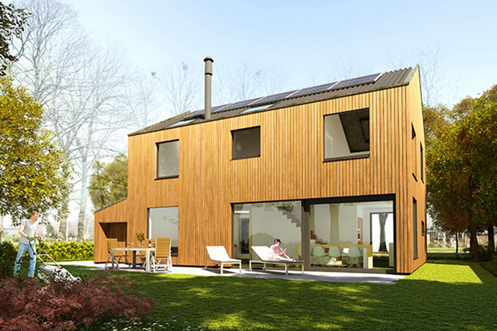VT wonen duurzame houtskeletbouw woning