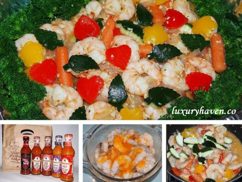 nandos peri garlic prawns recipe