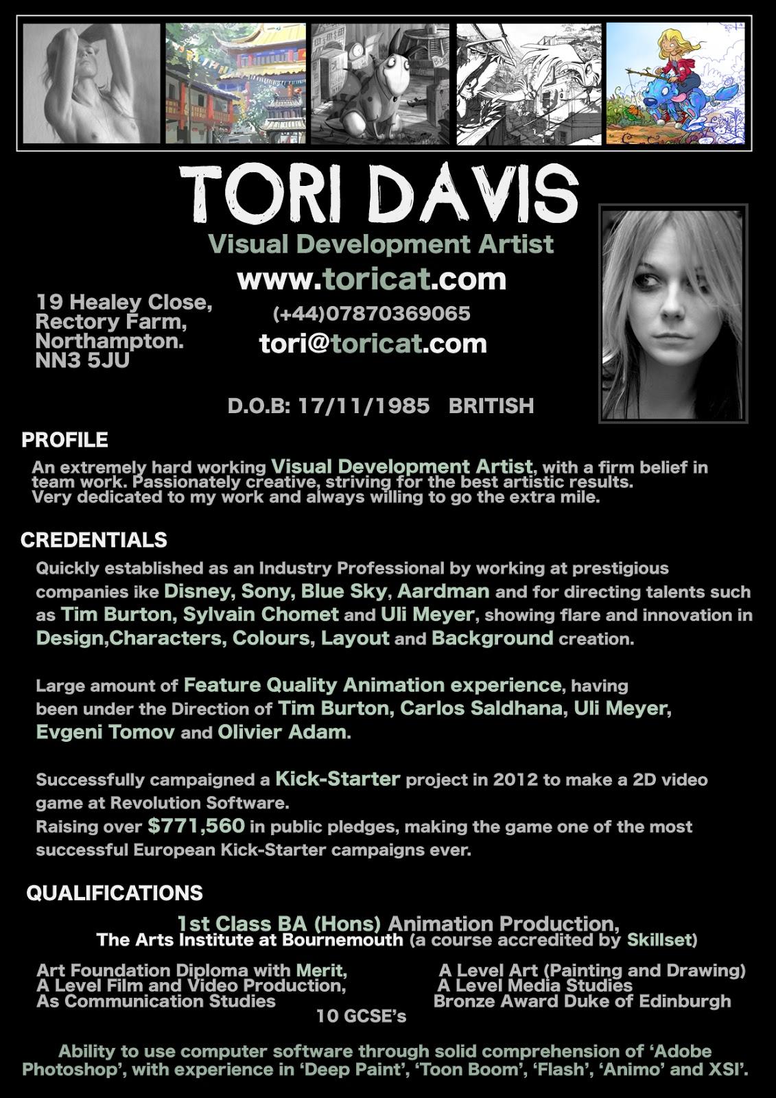 Portfolio: C.V/Resume
