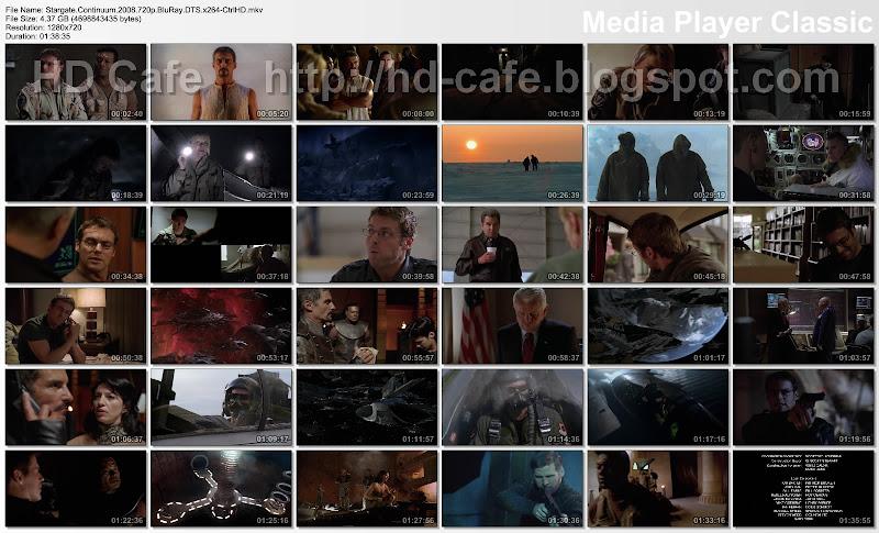 Stargate Continuum 2008 video thumbnails
