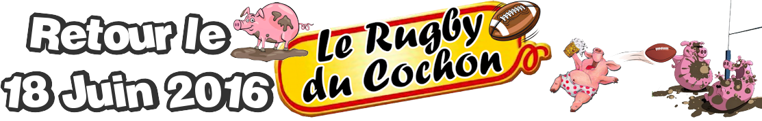 Rugby du Cochon - Un défi pour Virgil