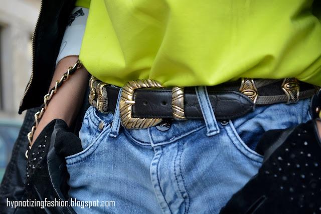 golden belt vintage