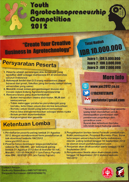 youth agtotechnopreeneurship competition