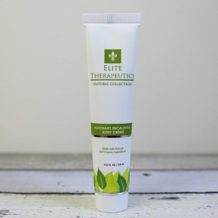 Elite Therapeutics Rosemary Eucalyptus Body Crème sample