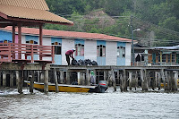 Garbage from Kampong Ayer