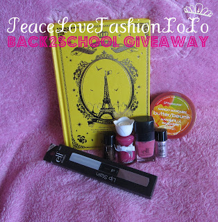 Back 2 School Mini Giveaway(end on 1st october)