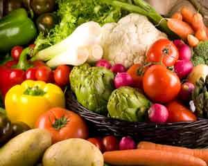 Importância das cores dos vegetais e frutas