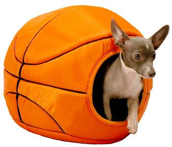 HomeTeam Pets Basketball Bed (cama en forma de pelota de basquet para perros)