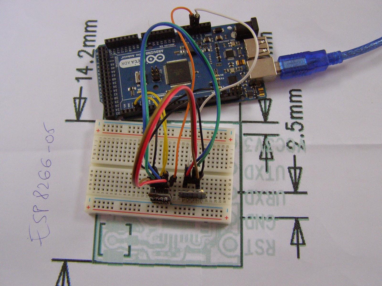 Nicu Florica Niq Ro Modulul De Retea Uairles Esp8266 05 Si Arduino Circuit Pic16f628 Rf Remote Buton 433mhz Button Deoarece E Mai Usor Sa Verific Pe Ecranul Monitorizare Seriala Iar Se Conecteaza Serial Adica Prin Rx Tx Am Folosit O Placa