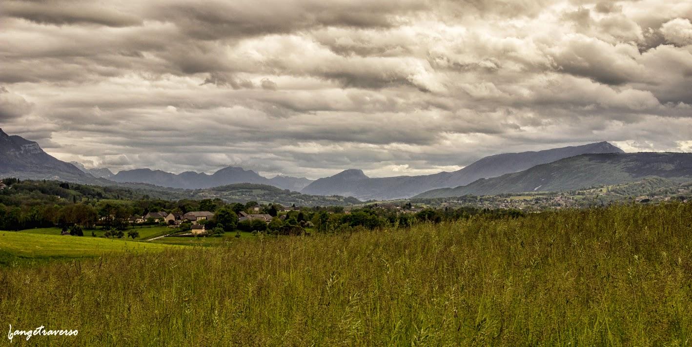Orage, printemps, Haute-Savoie