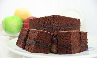 brownies kukus amanda, brownies kukus enak, resep brownies,