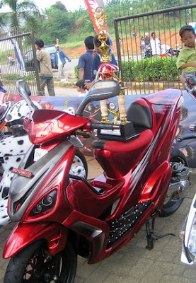 Pemenang Modifkasi Mio Club Depok ( MCD ) 2