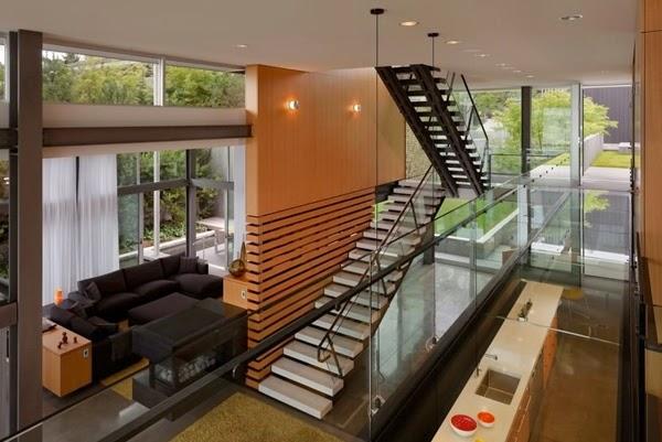Memilih Tangga Untuk Rumah Minimalis Modern Desain Rumah Minimalis