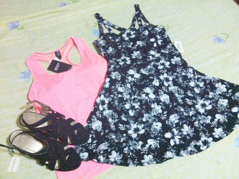 Forever 21, Cotton on, Sporty, Athletic, Sandals, Cute Dress, Floral Dress