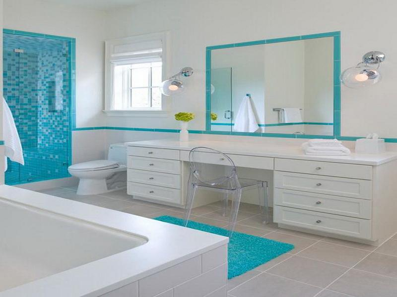 Gorgeous Beach Bathroom Decor