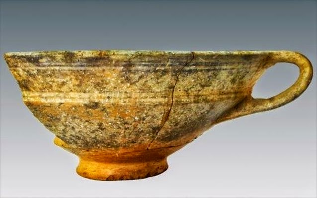 To εύρημα του μήνα στην Μυτιλήνη: Κάνθαρος του 6ου αιώνα π.Χ.