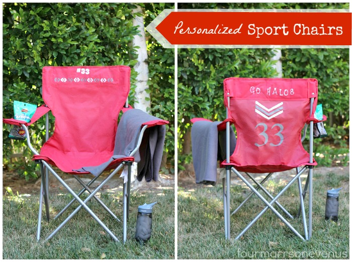 Personalized Sport Chairs