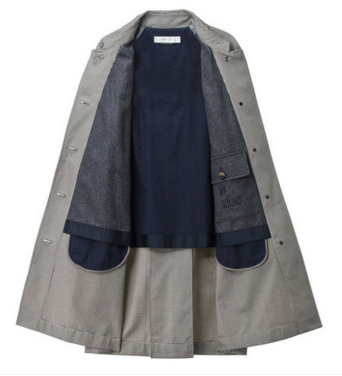 Classic Women Button-Down Coat