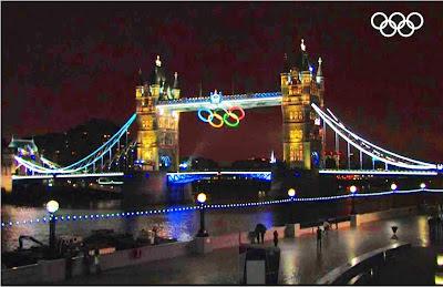Londres: Vistas nocturnas del parque olímpico  2012