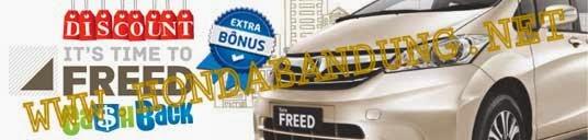 Price List New Honda Freed Bandung