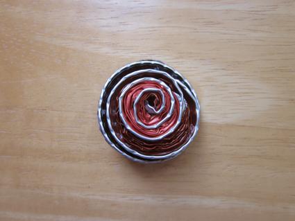 Brocha rosa Nespresso