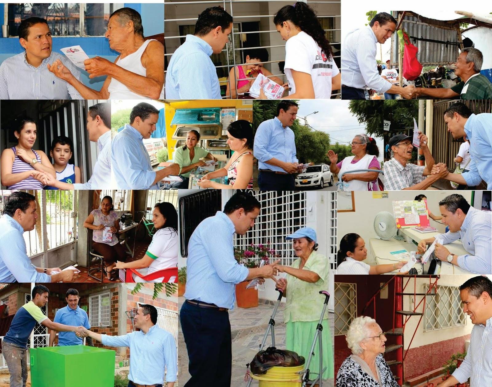 Jorge Acevedo en 'los casa casa' hace 'prospectiva política' con 'Todos por Cúcuta'