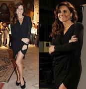 Giovanna Antonelli a delegada Heloisa apostou no pretinho nada básico .
